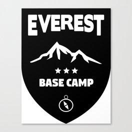 Mount Everst Base Camp Canvas Print