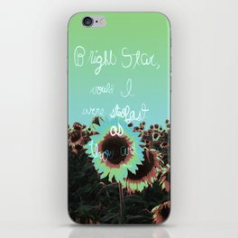 Bright Star  iPhone Skin