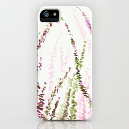 Love in the Lavender field iPhone Case