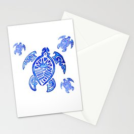 Crowned Turtle Stationery Cards