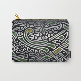 Celtic Birds Knot Work 3D Carry-All Pouch