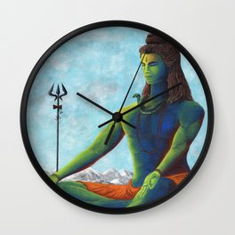 Lord Shiva Wall Clock