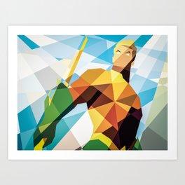 DC Comics Aquaman Art Print
