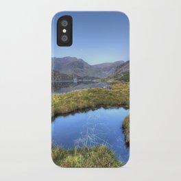 Ogwen's Pond iPhone Case