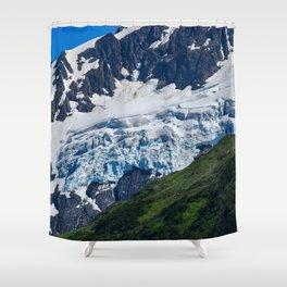 Whittier Glacier - 2 Shower Curtain