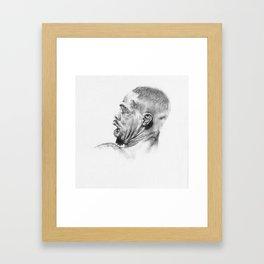 """Tender Moments #2 - Jon """"Bones"""" Jones Framed Art Print"""