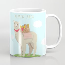 Alpaca Lunch Coffee Mug