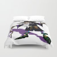 wizard Duvet Covers featuring Wizard by Noughton
