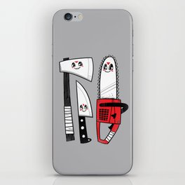 Happy Slasher Pals iPhone Skin