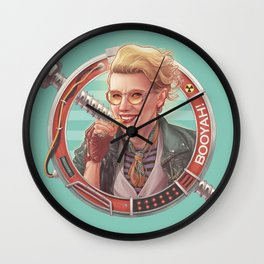 Emphasis on the BOO Wall Clock