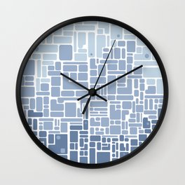city planning Wall Clock