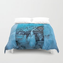 The Ice Palace Duvet Cover