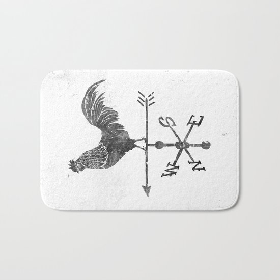 Weather Vane Bath Mat