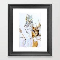 Martyr (Saint Sebastian) Framed Art Print
