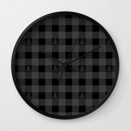 Plaid Leviathan Cross Wall Clock