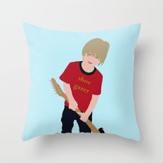 Shoe Gazer Throw Pillow