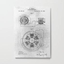 Alternating motor Metal Print