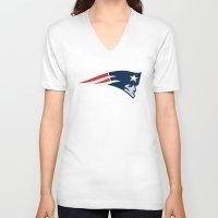 patriots V-neck T-shirts featuring Patriots by loveme