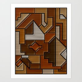 Woodwork Art Print