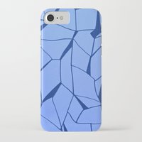 blueprint iPhone & iPod Cases featuring BluePrint by Elina Larsson