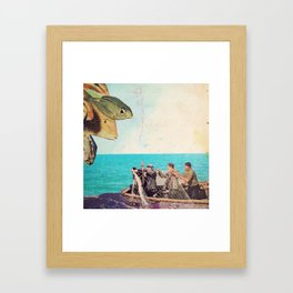 fisher Framed Art Print