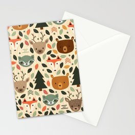 Woodland Creatures Stationery Cards