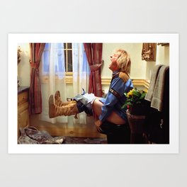 Dumb and Dumber Movie Poster - Harry Dunne Print - Funny Bathroom, Comedy Art Print
