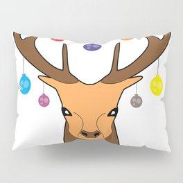 Merry christmas Reindeer #society6 #decor #buyart #artprint Pillow Sham