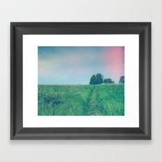 Bohemian Summer Framed Art Print
