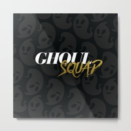 Ghoul Squad Metal Print