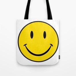 Smiley Happy Face Tote Bag