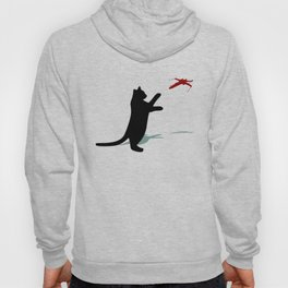 Cat and X-Wing Hoody