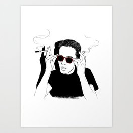 You can't be cooler than this. Art Print