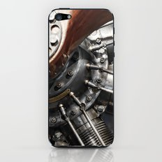 Airplane motor iPhone & iPod Skin