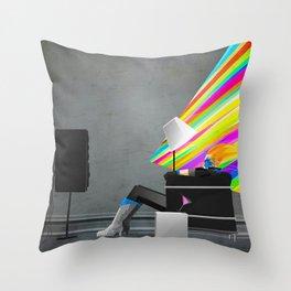 Dazzler  Throw Pillow
