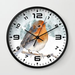 Winter wonderland 7 Wall Clock