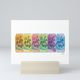 La Croix Illustration Mini Art Print