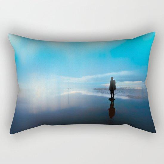 The Weight Rectangular Pillow