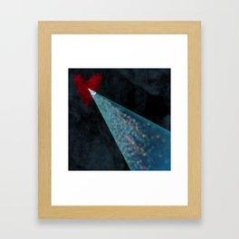 The Air Between Us Framed Art Print