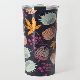 AUTUMN ARRANGEMENT DARK BACKGROUND Travel Mug