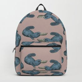 Blue Platypus Backpack