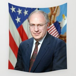 Official portrait of Secretary of Defense Richard B. Cheney Wall Tapestry