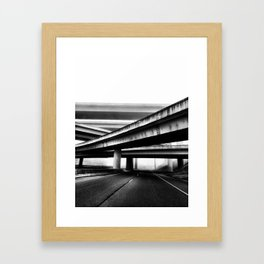 Nashville, TN Framed Art Print