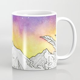 Mountain Through the Jungle Coffee Mug
