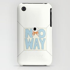 NO WAY iPhone (3g, 3gs) Slim Case