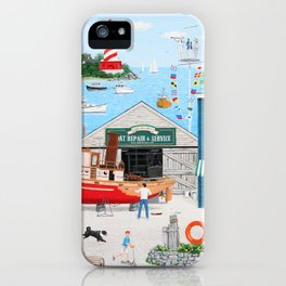 Where the Buoys Are iPhone Case