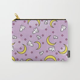 Sailor Moon Sheet Pattern - Bunnies, Stars, Moons Carry-All Pouch