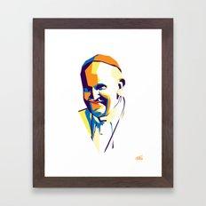 Pope Francis Framed Art Print