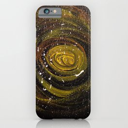 My Galaxy (Mural, No. 10) iPhone Case