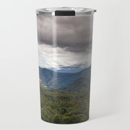 CLOUDS ABOVE THE FOREST Travel Mug